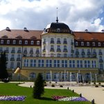 Grand Hotel, Sopot (where Hitler once stayed)