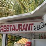 Restaurant de la plage aux Anses d'Arlet
