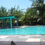la beach front piscine