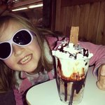 Excited by sundae