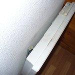 délabrement et saleté radiateur