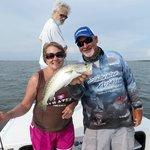 Captain Jim and crew in Cedar Key, Florida