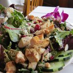 White River Salad with lots of dressing