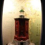 Эскпонат из раздела выствки маяков.