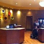 Akward Front Lobby