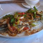 sea bream with lemon grass and chilli