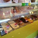 Kem Coba Ice cream selection