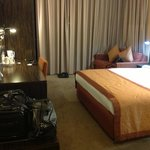 The rooms were basic but had modern amenities