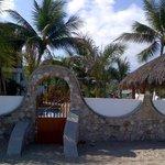 Sunset Casa beach gate