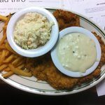 Chicken Fried Chicken with Fries, Slaw and Gravy $8.95