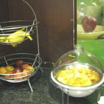Breakfast buffet ~ fresh fruit