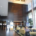 hotel's lobby/reception area