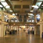 View inside the Torpedo Factory Art Center