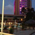 Vista desde el Bar del hotel