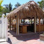 Tiki Bar in the Courtyard