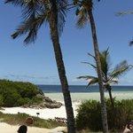 La spiaggia dal Garoda