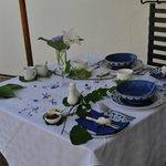 Frühstückstisch - jeden Morgen anders dekoriert