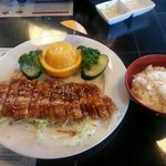 this is one of the awesome meals I've eaten at Kinja restaurant:-) I leave a happy camper all th