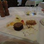 Dessert for sharing