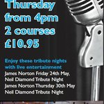 Food at great prices with live entertainment on specified nights