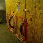 The Blocked Off Funland Esculator