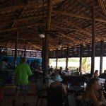 Lunchtime buffet by the beach