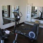 Good selection of gym cardio equipment