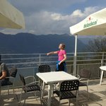 terrace and view  eat ouside!!