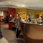 friendly staff in lobby
