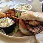 Grouper Sandwich - delicious!