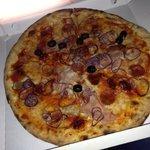 Pizza Flash con nduja :)