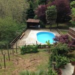 la piscina nel parco