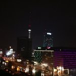 View towards the Alexanderplatz with TV tower