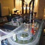 Marunouchi Hotel City Model train