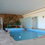 pileta climatizada y area de spa