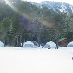 Lodge en Invierno. Especial par disfrutar de la nieve y esquiar en nieve virgen.