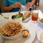 Shoe string fries