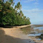 'Blue lagoon' beach