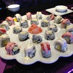 Blizzard Roll,Strawberry Delight Roll and California Roll