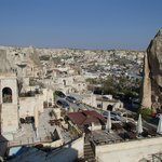 View of Goreme from Hotel