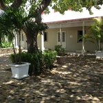 The prison courtyard - a nice slice of Barbados' history