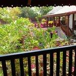The verandah outside the room