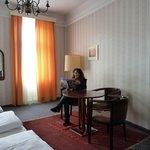 the spacious, comfortable room of Hotel Atlanta, Vienna