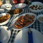Dinnertime on board Blue Lagoon 2