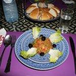 antipasto (insalata di pomodori)