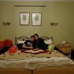 а еще сотрудники гостиницы умеют прекрасно поднять настроение на 14 февраля :-)