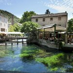 Beautiful location alongside and over the Sorgue