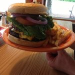 Timber's Double Cheeseburger