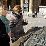 In Piazza Repubblica, per capire come si è evoluta la città
