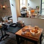 Frühstücksraum und Küche